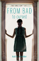 From Bad to Cursed Book Review Recommendation - Katie Alender - Sci Fi Thriller Book Recommendations for Young Adults