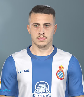 PES 2019 Faces Mario Hermoso by Lucas Facemaker