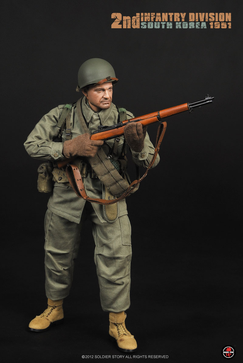Preview Soldier Story 1 6 Scale Us Army 2nd Infantry