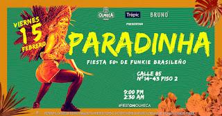 Fiesta PARADINHA | Rumba de Brasil en Bogotá 2019