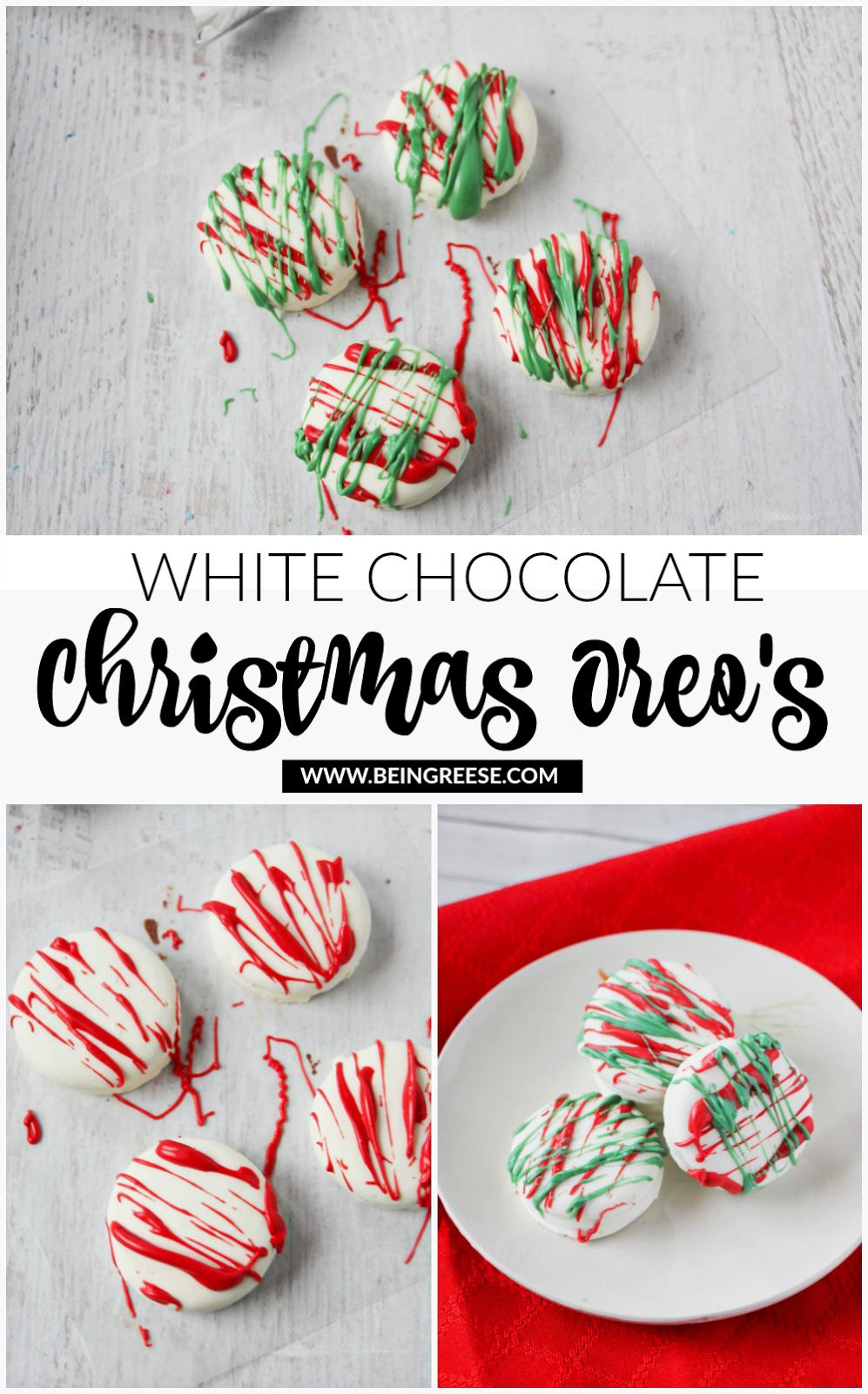 White Chocolate Christmas Oreo S