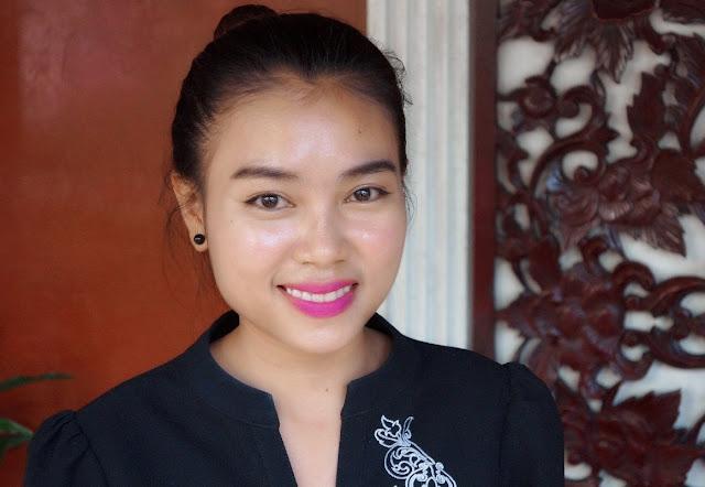 Phat Liden, 22 ans, serveuse, originaire de Phnom Penh, travaille au Malis depuis deux ans