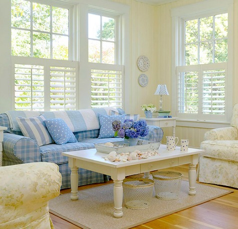 Coastal Living Room Color Ideas from Better Homes and Gardens ...