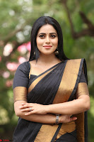 Poorna in Cute Backless Choli Saree Stunning Beauty at Avantika Movie platinum Disc Function ~  Exclusive 116.JPG