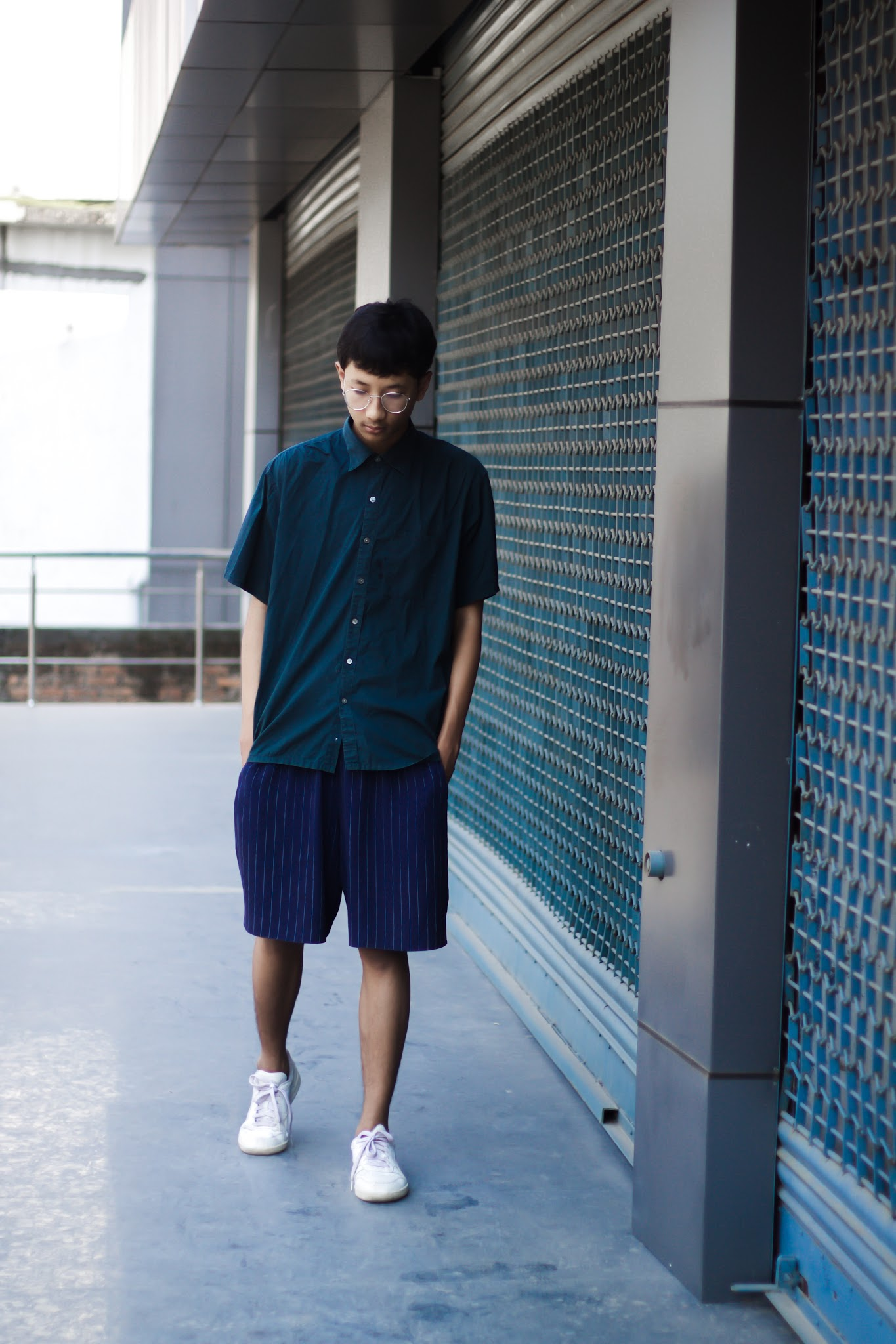TheQuirkyMinimal by Kangkan Rabha Indian Menswear fashion blog Style tips on how to wear pyjamas in the daytime menswear