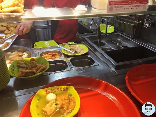 SGfoodfeed Yong tau fu YTF soup dry mee pok mee kia