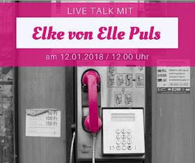 Live Talk mit Elle Puls