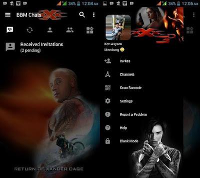 BBM Mod Triple-X 3 Versi Terbaru 3.2.5.12