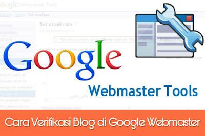 cara verifikasi blog di webmaster