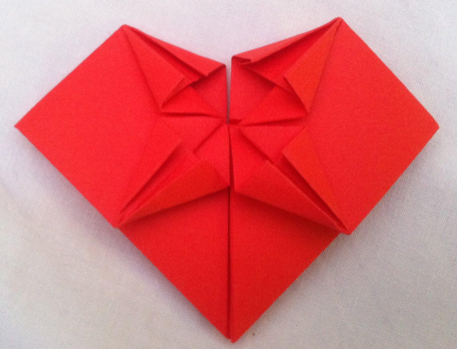 origami hearts - 28 images - origami garland hiragana, how ... - photo#10