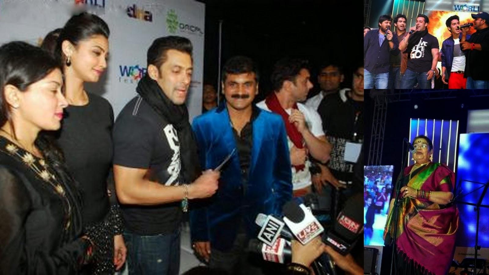Jai Ho Promotion with Salman Khan at Worli, Mumbai