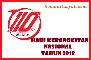 Pedoman Penyelenggaraan Upacara Bendera Harkitnas Tahun 2018