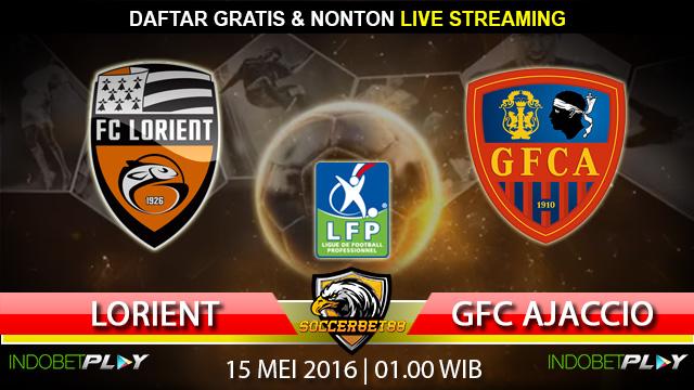 Prediksi Lorient vs GFC Ajaccio 15 Mei 2016 (Liga Perancis)