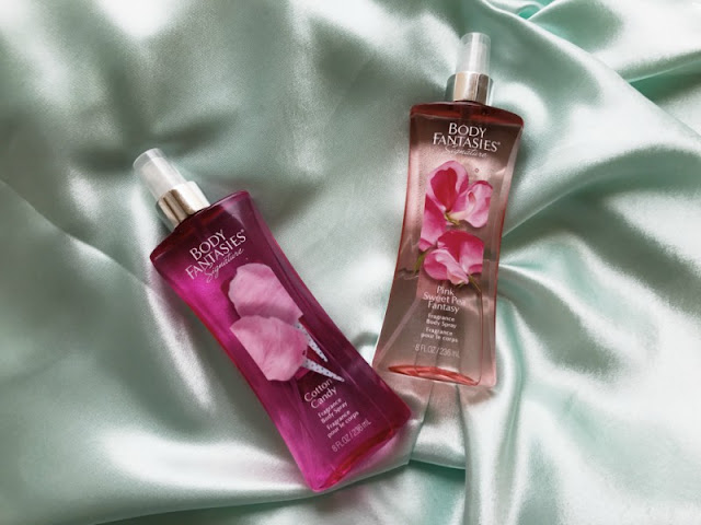 Body Fantasies Body Sprays UK New Fragrances and Sizes