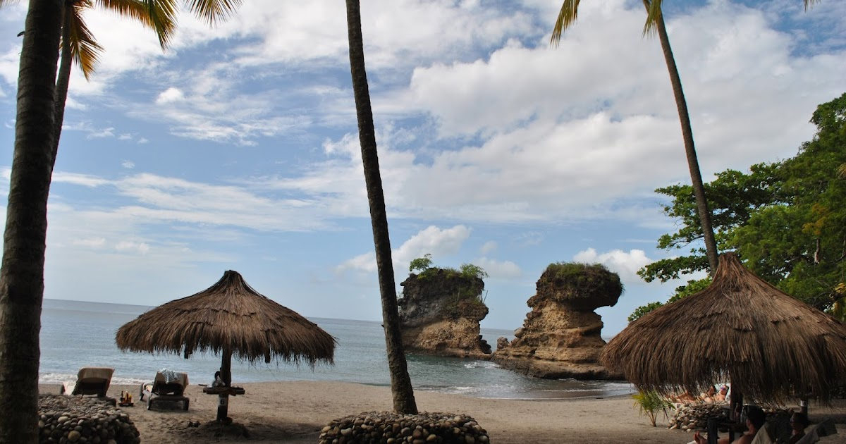 Farsighted Fly Girl: Secluded Paradise on St. Lucia's Anse ...