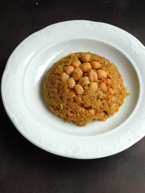 Quinoa Channa Pilaf, Chickpeas Quinoa