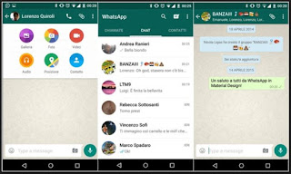 Tampilan Whatsapp Versi Lama