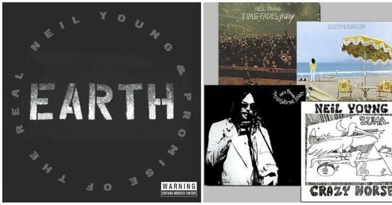 Updated Live Alben Earth Und Time Fades Away Auf Vinyl