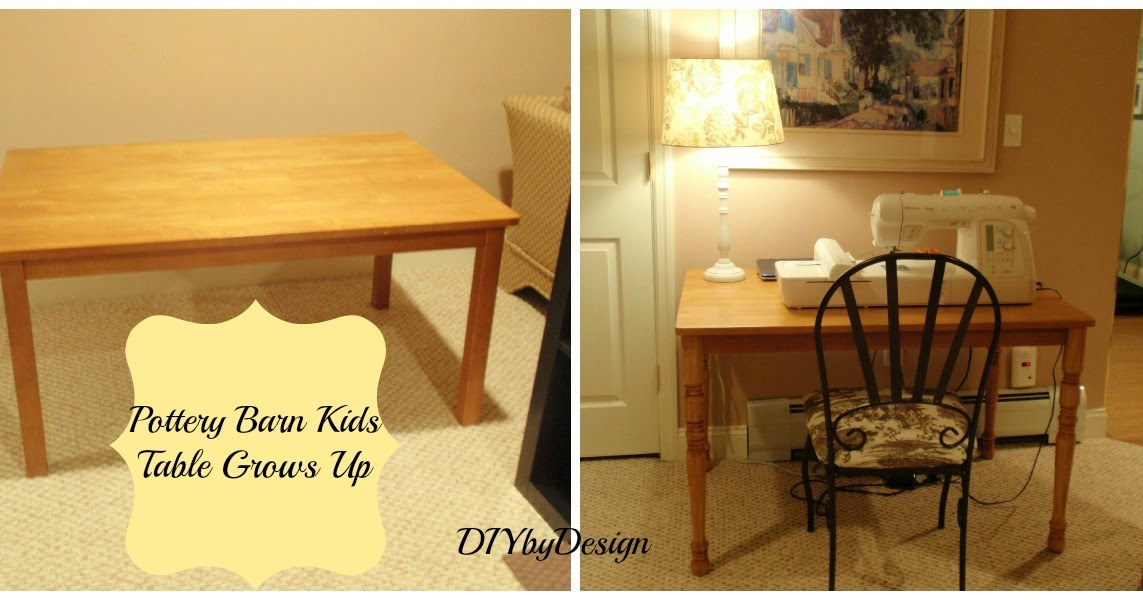 Diy By Design Pottery Barn Kids Carolina Table Grows Up