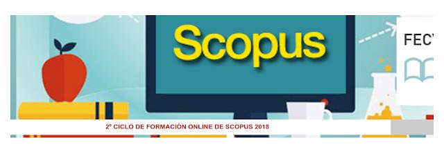 2º Ciclo de formación online de Scopus 2018.