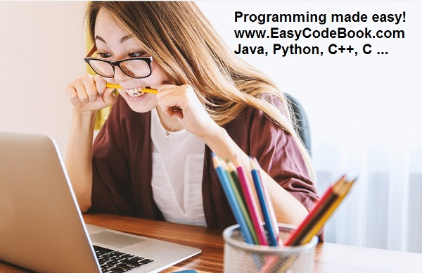 Perfect Programming Tutorial for beginners EasyCodeBook.com