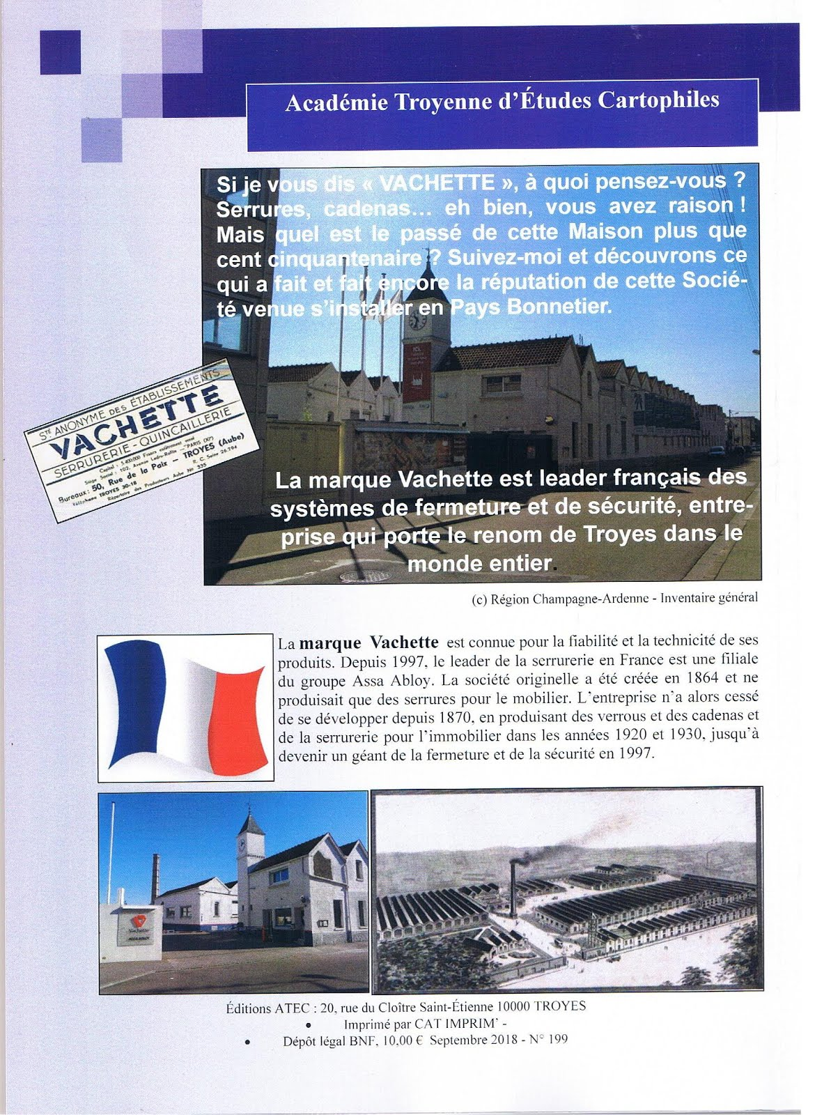 Couverture de la brochure