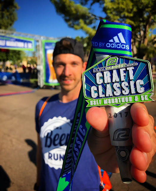 Round Two at the Road Runner Sports Craft Classic Half Phoenix