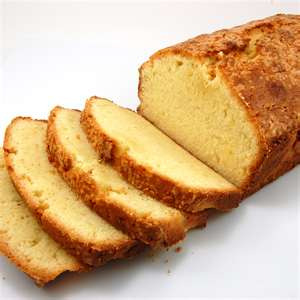 Pineapple Sage Pound Cake