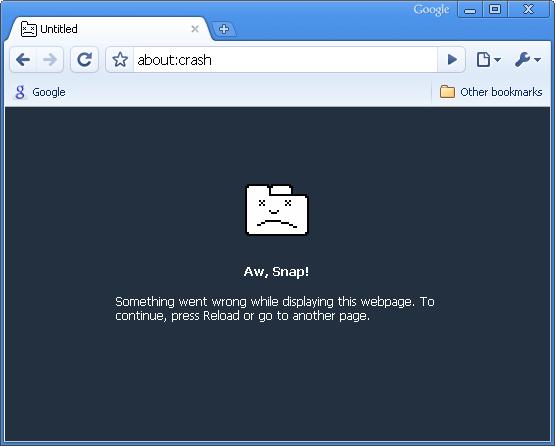 Google Chrome Crash ..How To Fix