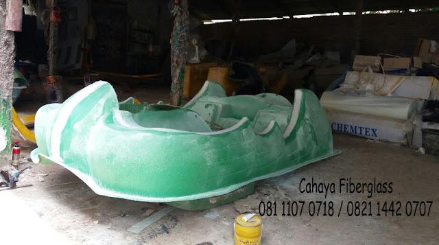 sepeda air fiberglass  angsa