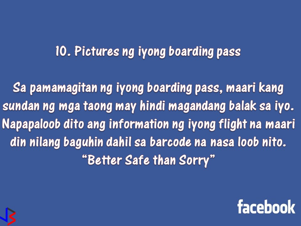 """With our social media account especially Facebook, we can connect with our friend and family easily. We also love posting pictures of our whereabouts and constantly update our status.  But don't you know that posting so much information on your account can be risky for your safety and security? So if you care about your privacy, keep your account protected by deleting this 12 things on your page!  1. Your Birthday.  Facebook helps your friends to remember your birthday. But remember, this is one part of an important information you have, together with your name and address. Don't you know that other people can use this simple information of yours to access your bank account or personal details? Also be careful of identity theft. Criminals are on Facebook too that may use your picture, name, address, birthday and pretend to be you to scam people!  2. Your Phone Number  What is the reason why your personal phone number is on Facebook? Are you looking for a TextMate? You should be careful about posting your personal phone number on your account. This information can be obtained easily by stalkers who can call you in the middle of the night for nothing.   3. Most of Your """"Friends""""  How many people are on your friends list? Do you know all these people?  According to Oxford study, having a four-digit number of friends really is not sensible. Oxford psychology professor Robin Dunbar theorized that humans can maintain approximately 150 stable relationships and if we exceed, we are straining our cognitive capacity to remember who are these people. This means, having more people on our friend's list is bad for our brain.  So if you want to have healthier interaction with social media, unfriend or delete your unwanted friends.  4. Photos of your child or young family member  Kids are cute and adorable. That is why we love to share pictures of our kids online. But you never know who's watching. Any photo of your child may fall into the hands of pedophiles or child pornographer"""