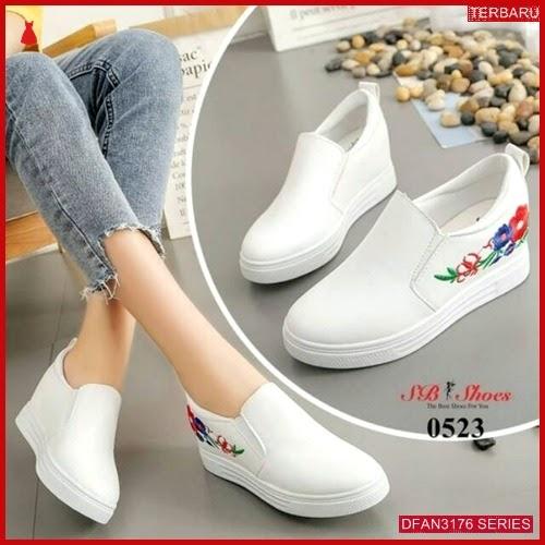 DFAN3176S42 Sepatu Md67 Sneakers Bordir Wanita Sneakers Murah BMGShop
