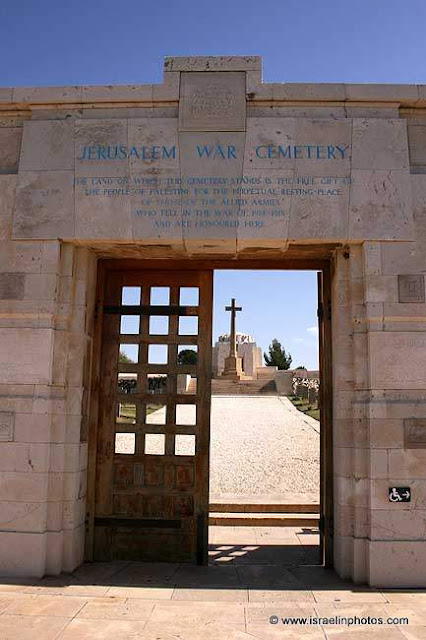a military cemetery for fallen soldiers of British Empire in the first World Wa