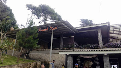 Pondok Kopi, Lereng gunung Ungaran