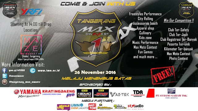 Touch Down 1St Anniversary Tangerang Max Owner's