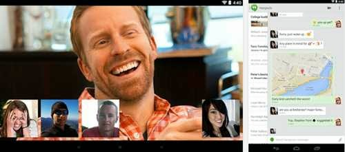 google hangout video calling
