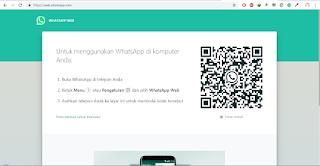 halaman login whatapps web