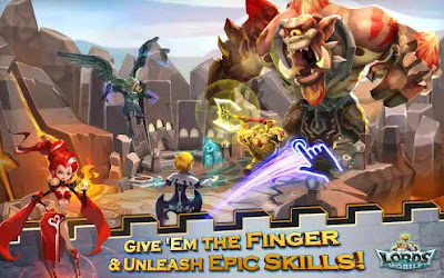 Download Lords Mobile Mod APK v1.34 APK + DATA Terbaru Update Gratis