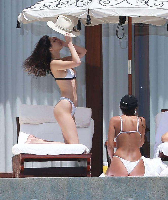 Bella Hadid Enjoys her time in Bikini