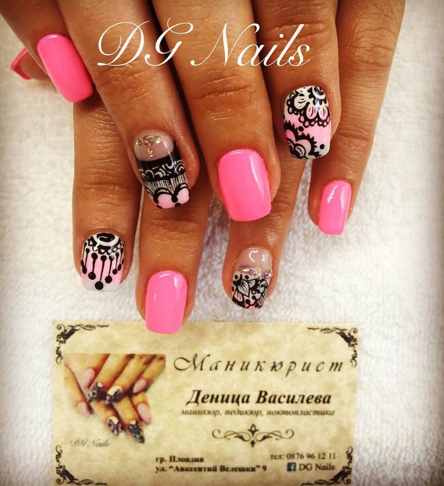 Fine Dg Nails Adornment - Nail Art Ideas - morihati.com