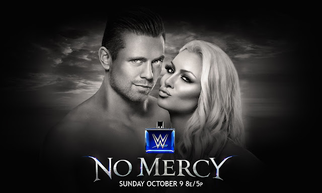 "WWE ""No Mercy 2016"" Official HQ Wallpaper Download (feat. The Miz & Maryse), Click on Preview to download Full HQ Version."