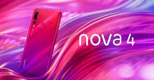 تعرف على هاتف هواوي  Nova 4 الخارق
