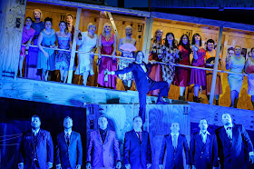 Martin Platz, Czech Philharmonic Choir Brno - Wagner: Der fliegende Höllander - Heidenheim Opera Festival (photo Oliver Vogel)