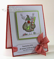 Christmas Spirit Birdbrain card