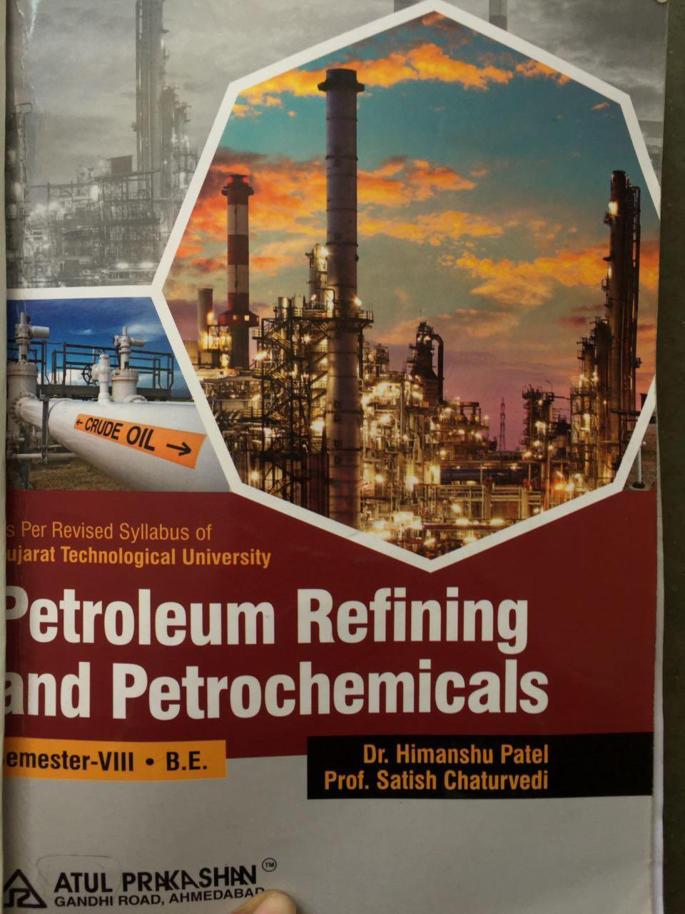 Petroleum Refinery Engineering Book