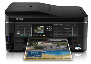 Epson WorkForce 635 Driver Download - Windows, Mac