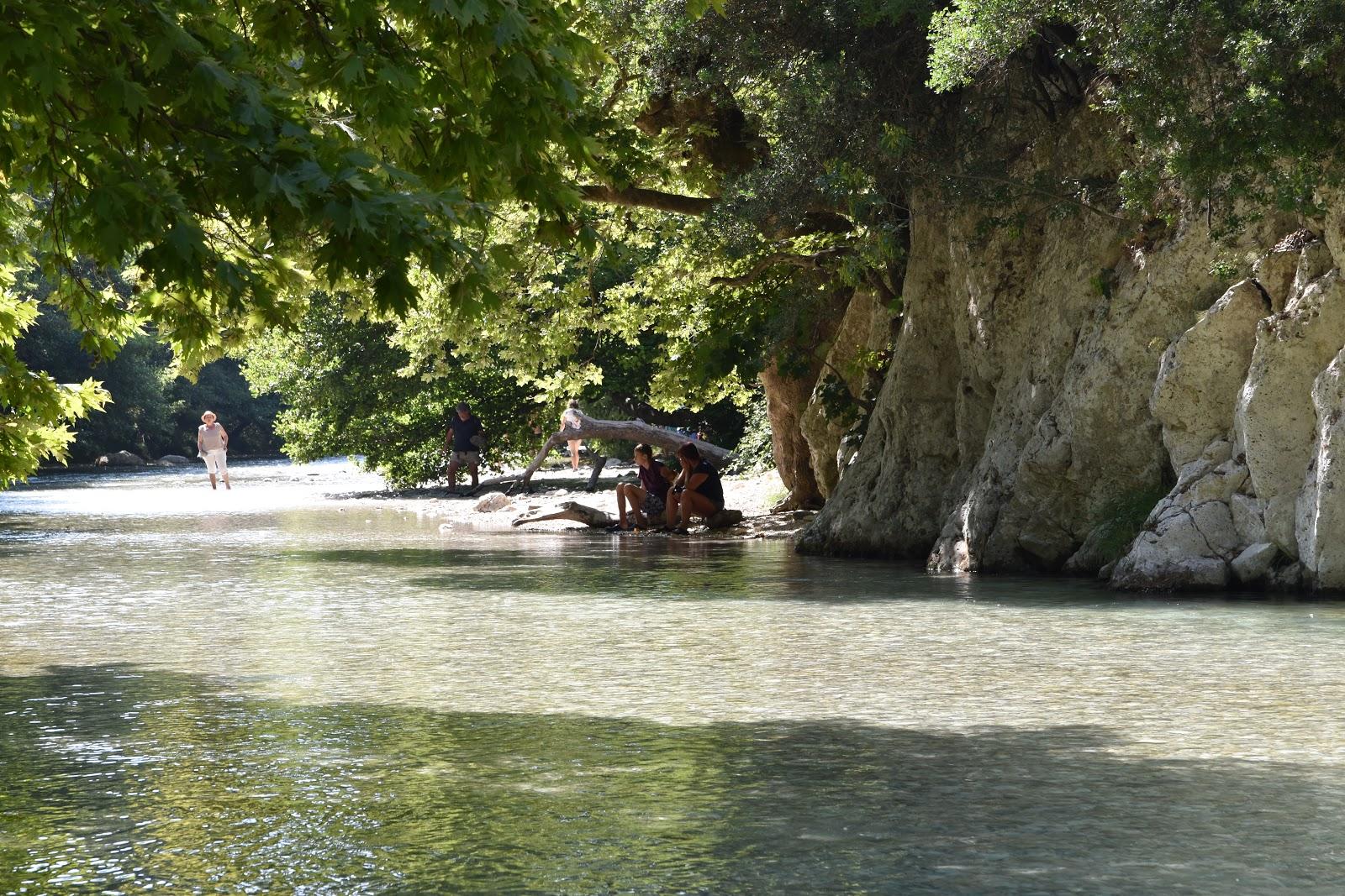 řeka Acheron Gliki Řecko