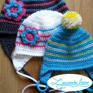L'accroche laine - Tuque pour bébé