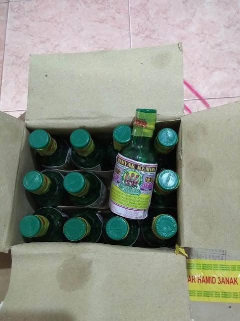 Minyak Kemiri Cap 3 Anak Kempo Kosmetik Azwar Hamid 1 KOTAK