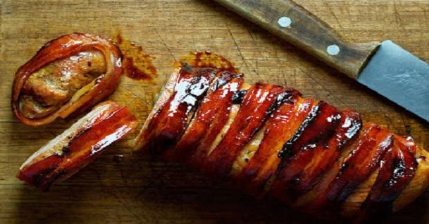 Bacon Wrapped Pork Tenderloin